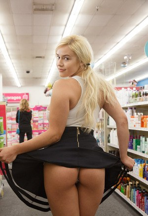 Naked In Public Porn